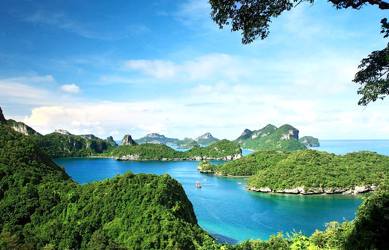 Angthong National Marine Park Koh Samui