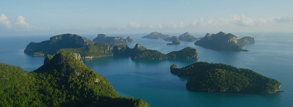 Angthong Marine Park Koh Samui Thailand