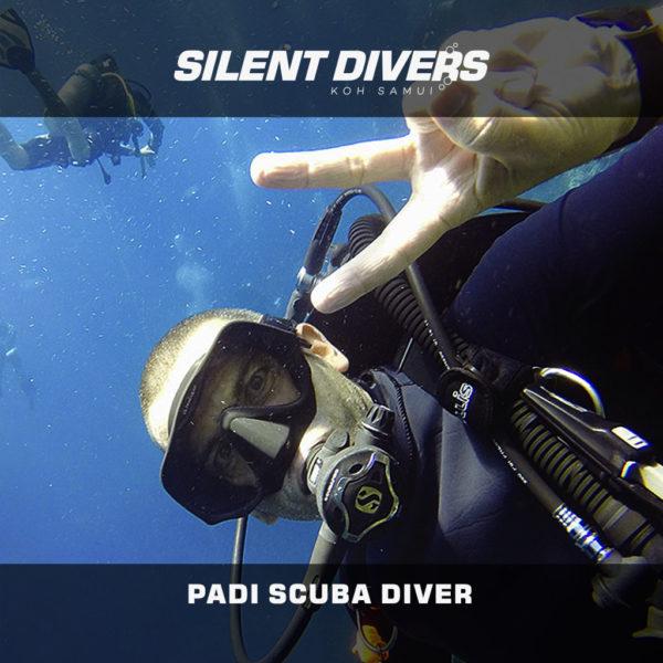 PADI Scuba Diver Koh Samui Thailand