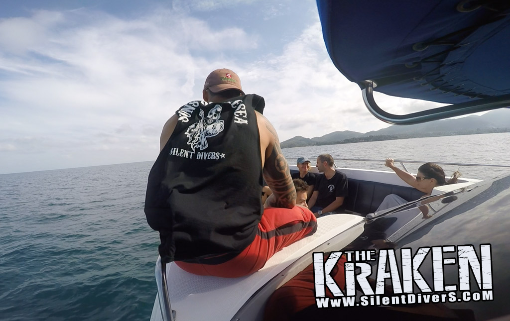 Speedboat the Kraken Seats Koh Samui Thailand