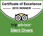 Silent Divers Tripadvisor Excellence 2015