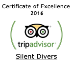 Tripadvisor Certificate of Excellence 2016 Silent Divers